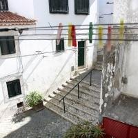 The Alleys of Alfama from the livingroom's window