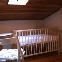 Baby bed available upon request